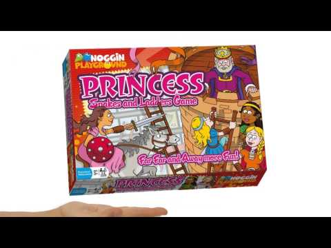 Princess Snakes And Ladders Counting Preschool Learning Game - Teaser Trailer