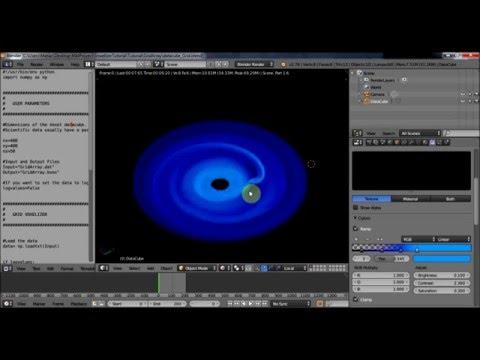 Blender & Astronomy (1-4): Understanding Blender Voxel Data