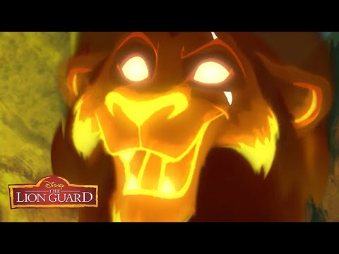 When I Led The Guard Music Video 🦁 | The Lion Guard | Disney Junior