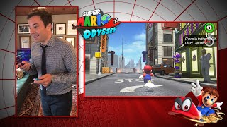 Jimmy Fallon Plays Super Mario Odyssey for Nintendo Switch thumbnail