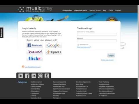 How to get songs to review on MusicXray