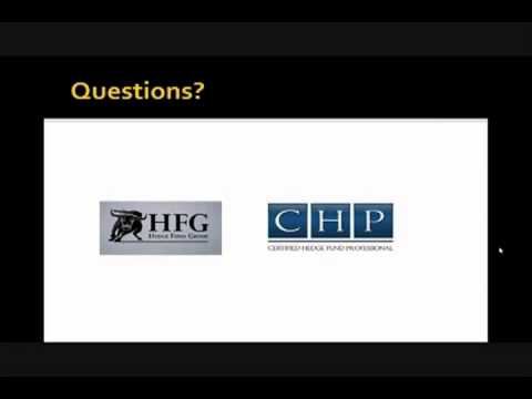 Future of the Hedge Fund Industry | Hedge Fund Group Webinar   Questions