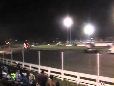 Kyle Larson World of Outlaws Mini Gold Cup Silver Dollar Speedway Mar. 12, 2011
