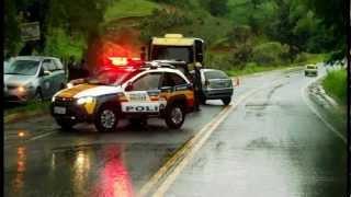 ACIDENTE COM VÍTIMA FATAL - Rodovia MGC 383, km 377, Itajubá/MG (11-12-2012)