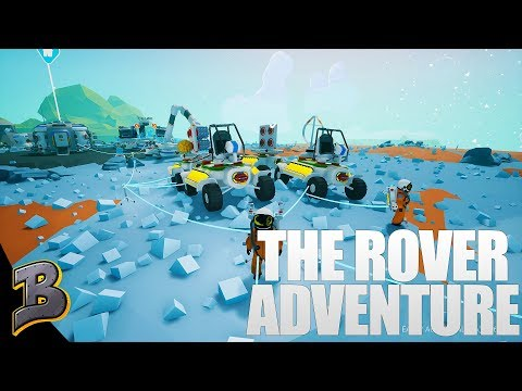The Great Rover Adventure! Finding A Crashed Satellite  -Astroneer-
