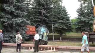 Ленин был в Ульяновке.(Ульяновка Кировоградской обл. Пришло время убирать камни. Вот и в нашем городе Ульяновка, решением местной..., 2015-08-23T19:27:02.000Z)
