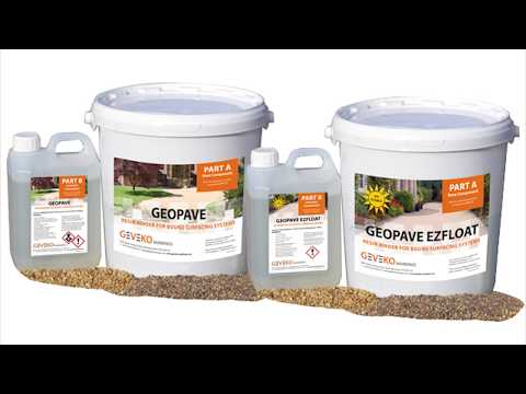 GeoPave Resin Bound Application