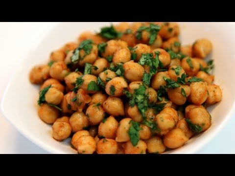 Chickpea Salad Moroccan Style Recipe CookingWithAlia Episode 316