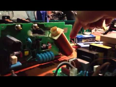 500w xenon short arc HID, lamp ballast ignition DIY demonstration