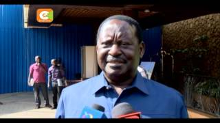 NASA chief Raila Odinga says out of danger