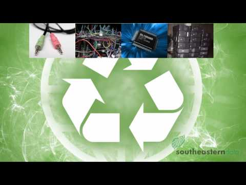 E-Waste Management and Processing Techniques