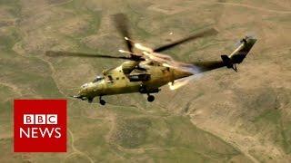 BBC witnesses IS using human shields   BBC News