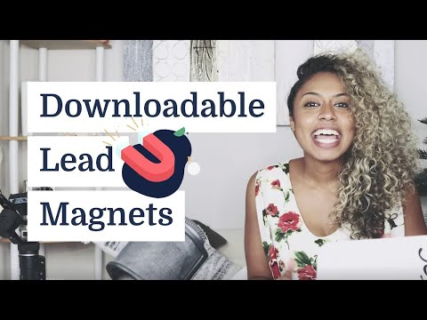 How to set up a downloadable lead magnets in ConvertKit