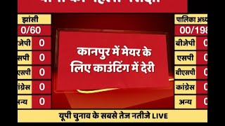 UP Civic Elections Results 2017 LIVE: Counting Delayed By 15 Minutes In Kanpur
