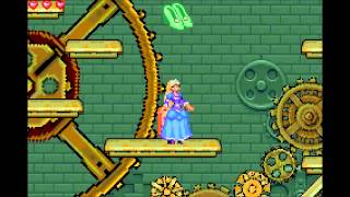 Walkthrough - Clock Tower (Level 6) - Barbie in The 12 Dancing Princesses GBA
