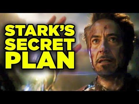 Avengers Endgame Iron Man Armor Breakdown! Stark's Secret Plan Explained!