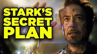 Avengers Endgame Iron Man Armor Breakdown! Stark's Secret Plan Explained!