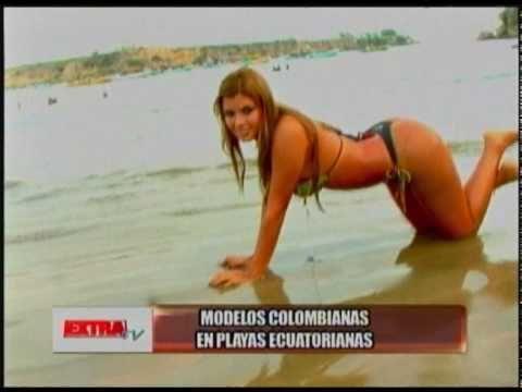 Extra Tv Programa 1 Lunes Sexy Angie García Eliana Pinillos Y