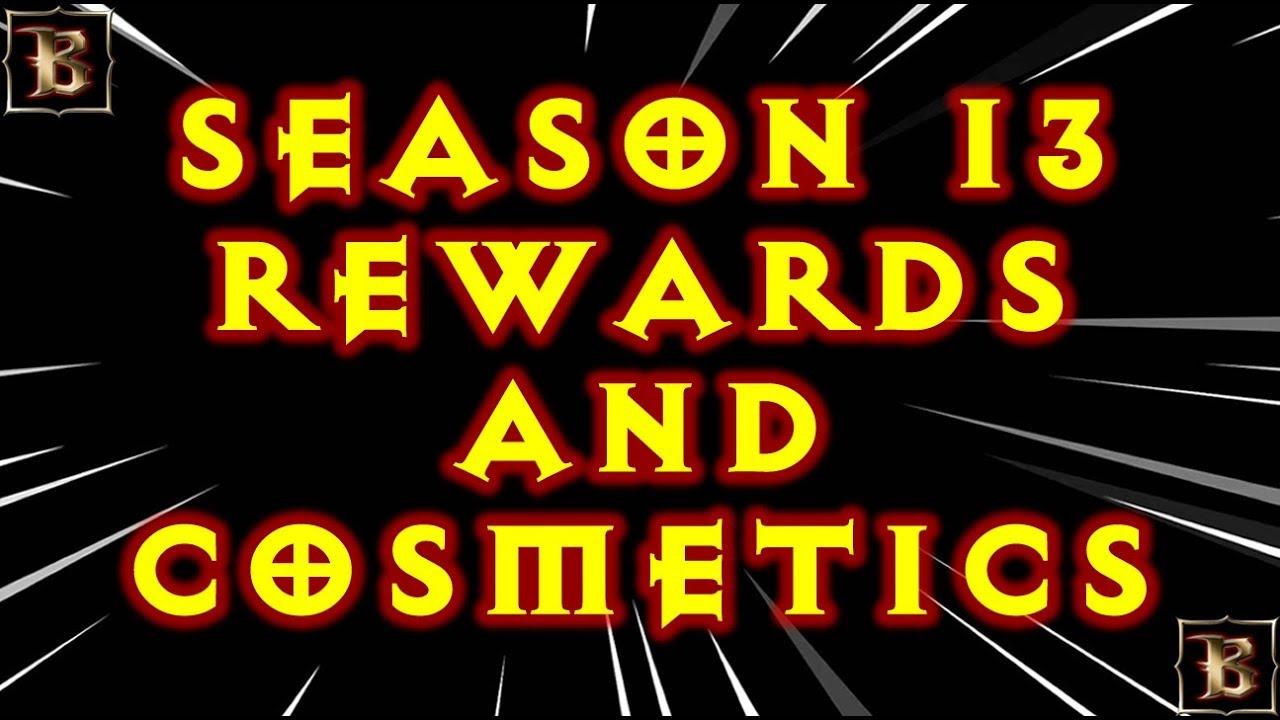 Diablo 3 Season 13 Cosmetics And Rewards!