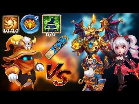 Spirit Mage | 1v1 | Top Legends | Castle Clash