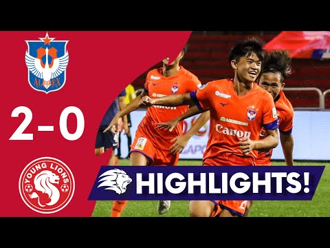 Albirex Niigata Young Lions Goals And Highlights
