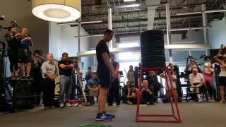 Highest standing jump: Evan Ungar breaks Guinness World Records record