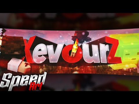 « Xevourz » Speed Art Banner • By : CheksFx » Trade » PS Touch [33] • [bad Coloring :'(]