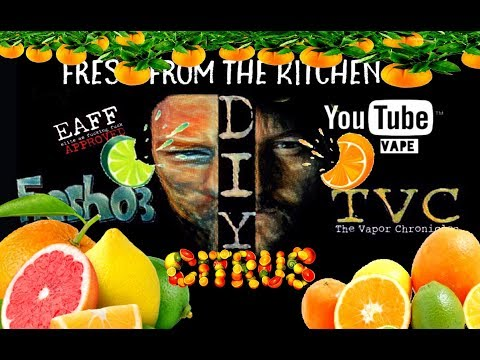 Fresh From The Kitchen Lesson 47-CITRUS MIX