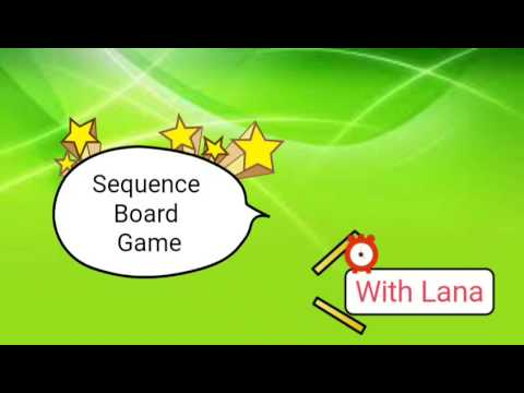 Sequence Board Game Rules And Instructions Youtube