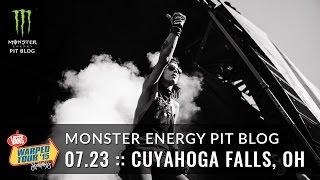 2015 Monster Energy Pit Blog: Cuyahoga Falls