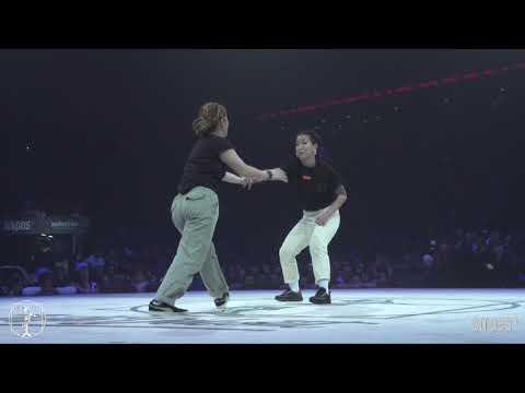 Hip hop Best 16 - Juste Debout 2019 - Yass & Yusei VS Da Ting & Double Y