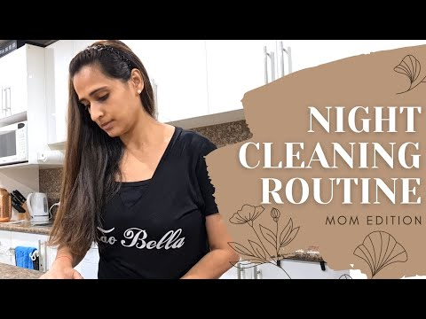 *NEW* EVENING CLEANING ROUTINE OF A MOM   NIGHTLY CLEAN WITH ME....RELAXING!