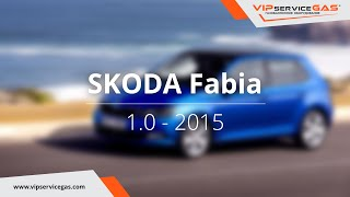 ГБО на Skoda Fabia 1.0 (ГБО Landi Renzo). Газ на Шкода Фабиа.