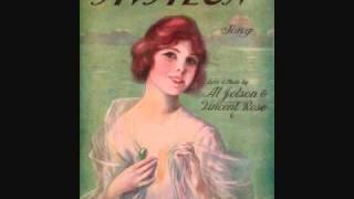 Al Jolson - Avalon (1920)