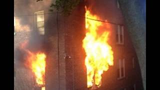 Apartment Building Fires Caught On Camera