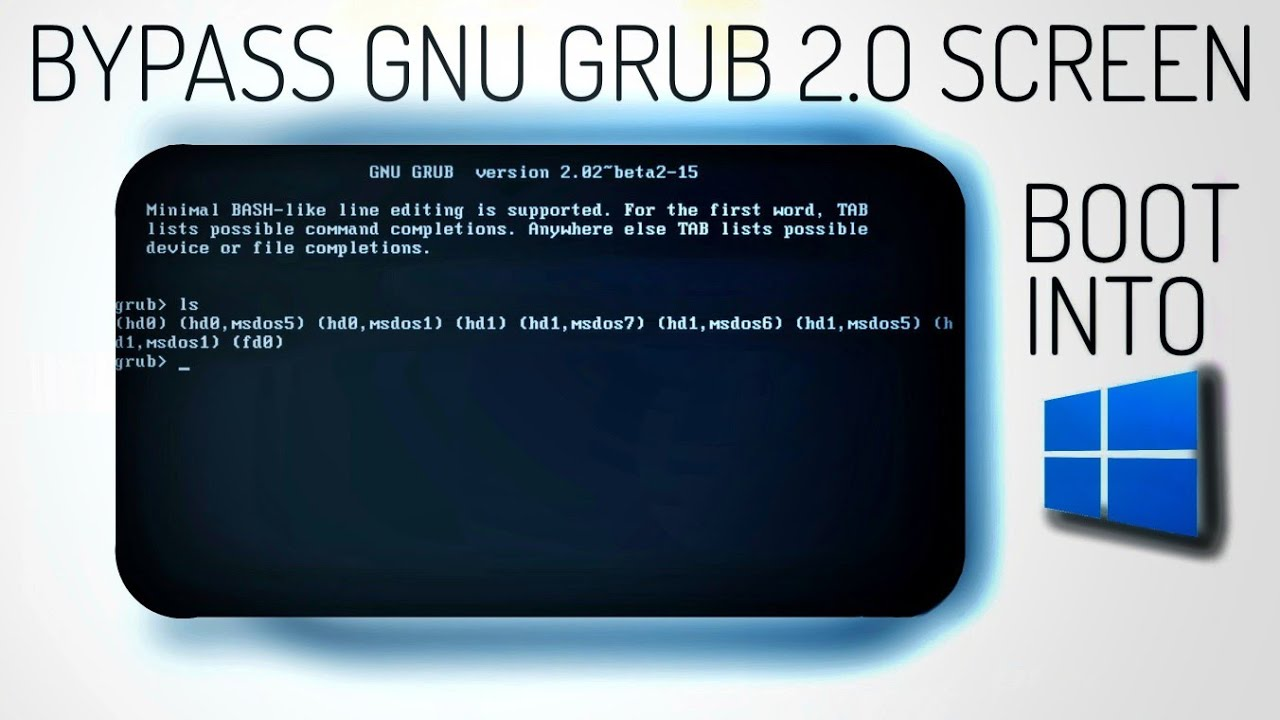 Download Stuck in GNU Grub Screen? Try this!