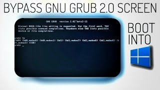 How to Remove GNU Grub Bootloader Screen after Deleting Ubuntu/Linux [Updated!]