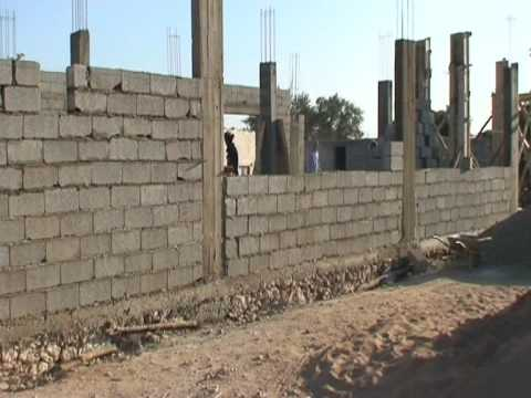 Maison En Construction Pres D 39 Essaouira Youtube