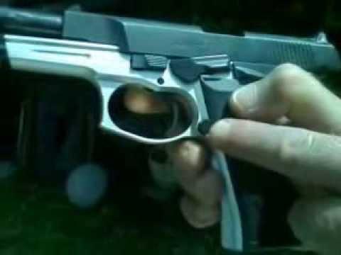 test de pistola Bersa Thunder 9 x 19 mm por Leonardo Fabián Conti ITB Buenos Aires Argentina