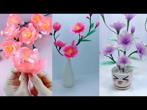 18 Super easy DIY Making plastic flowers - A simple guide to making plastic flowers