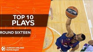 Top 10 Plays  - Turkish Airlines EuroLeague Regular Season Round 16