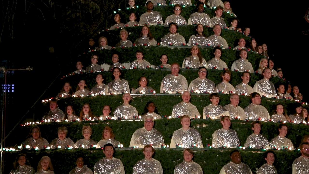 Belhaven Singing Christmas Tree 2020 Singing Christmas Tree: Music Department