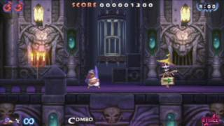 Prinny 2: Dawn of Operation Panties, Dood! - perfect gameplay demonstration