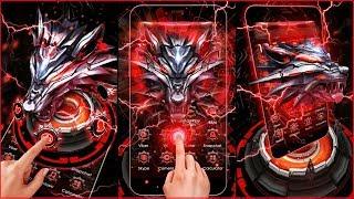 Vivo theme 3D iron wolf.itz