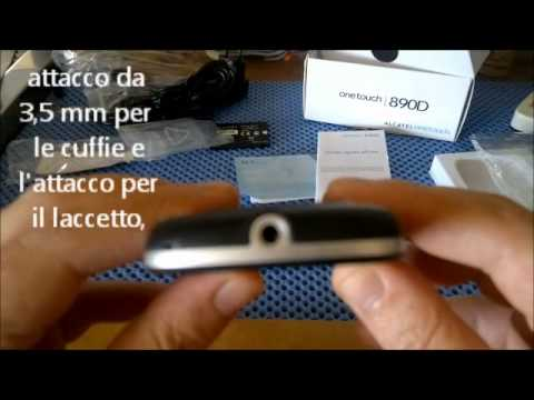 Unboxing Alcatel OT 890D