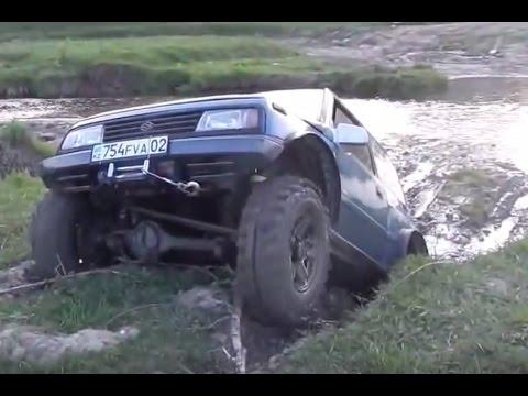 Suzuki Escudo Off road 4x4 Mud Hill Climb Sand Water Compilation