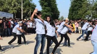 cmr institute of technology illuminate 2k15 flashmob