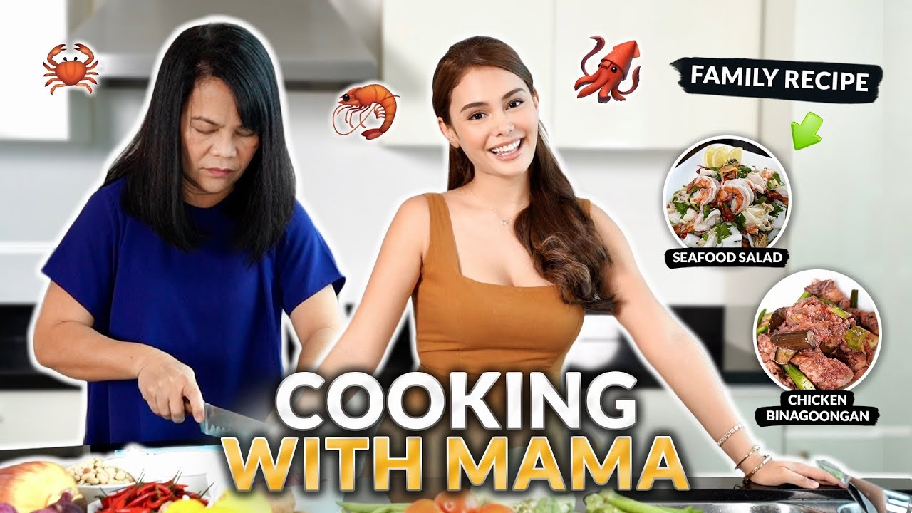 COOKING WITH MAMA ALAWI! *OUR FAMILY RECIPE* | IVANA ALAWI