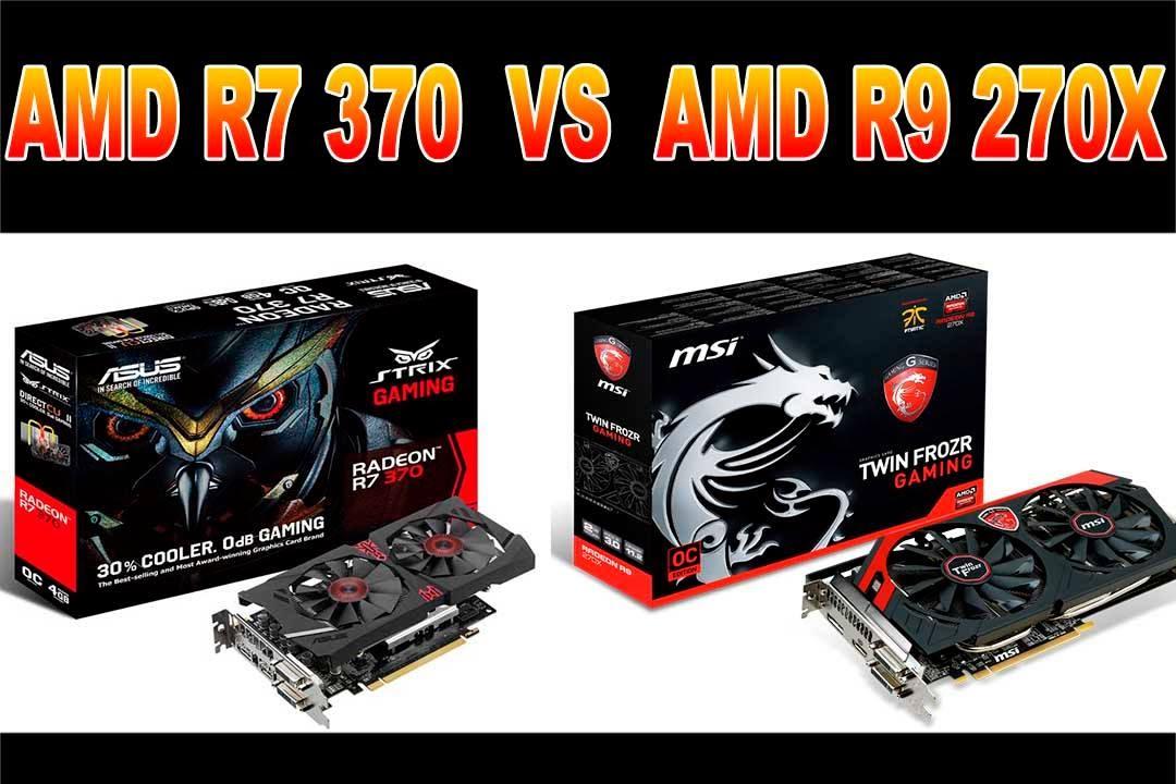 AMD R7 370 vs AMD R9 270X - Full HD (Desempenho em Jogos)