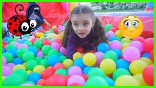 Afara la Tobogane/Melissa cu Jasmina se Joaca/Video for kids